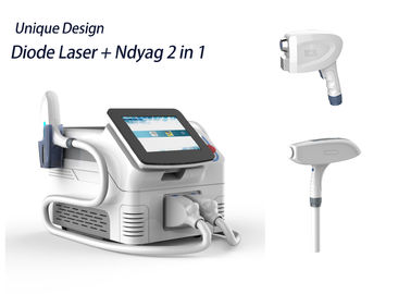 Portable Laser Q Switch Tattoo Removal Machine , Long Pulse Nd Yag Laser System