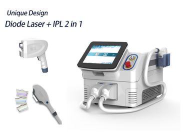 2 In 1 Multi Functional Ipl Laser Machine Humanized Menu Easy Operation