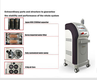 Super Hair Removal E Light Ipl Machine Water Cooling For Pigmentation Therapy