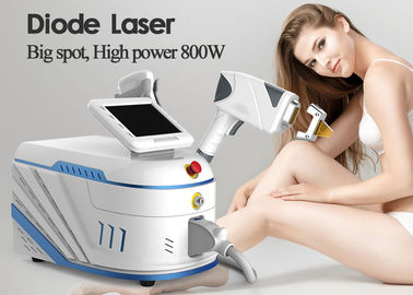 High Efficiency Diode Permanent Hair Removal Machine 1 - 10Hz Pulse Frequency