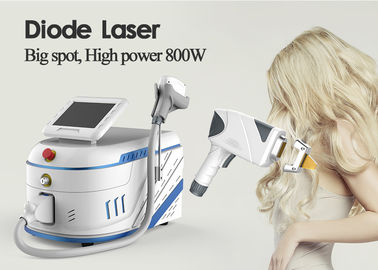 755nm 808nm 1064nm Laser Hair Removal Equipment 15 * 30mm 10 * 15mm For Back Hair