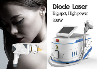 Super Power 755nm 808nm 1064nm Diode Laser Machine With 6L Stainless Water Tank