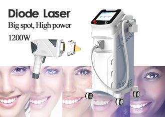 Mobile Laser Hair Removal Machine For Women 12 Laser Bars 10.4 Inch Display