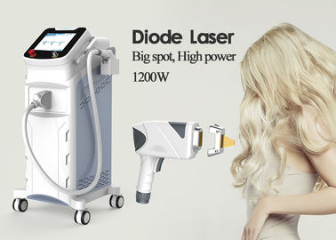 Professional Diode Laser Hair Removal Machine 755nm 808nm 1064nm 1200W 1 Handpiece