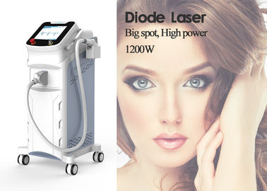 755nm 808nm 1064nm Diode Laser Hair Removal Equipment 2 Spot Size 62.5 * 60 * 116CM