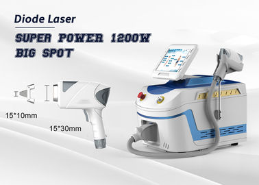 Super Power Facial Hair Removal Machine 1200W Diode Laser Depilation Big Spot Size